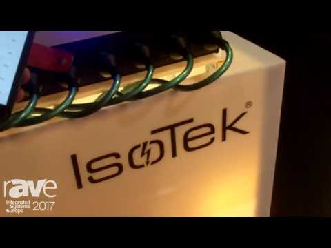ISE 2017: Isotek Smart Power Features Theta Power Management System