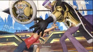 One Piece Pirate Warriors - Luffy vs Don Krieg HD