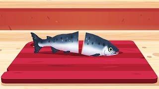 Làm Sushi Cá Biển Và Cá Hồi – Toca Kitchen Sushi