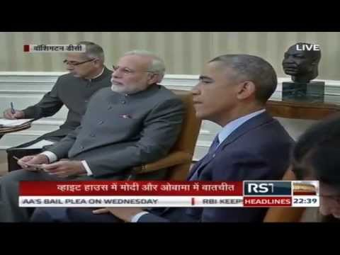 Joint Press Conference of PM Narendra Modi and US President Barack Obama at White House
