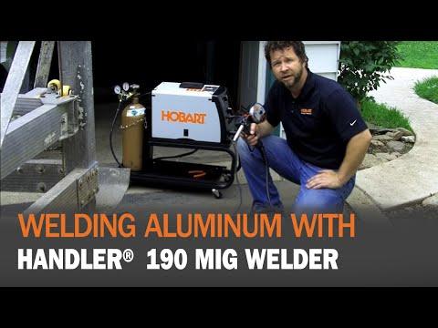 Hobart Handler 190 Mig Welder With Spoolrunner 100 Spool