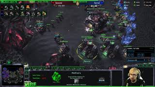 ViBE - Pro level replay analysis Serral vs Special WCS