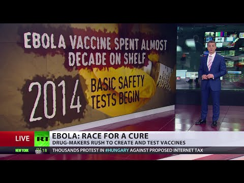 Time Wasted: Ebola vaccine created decade ago, undergoes tests only now