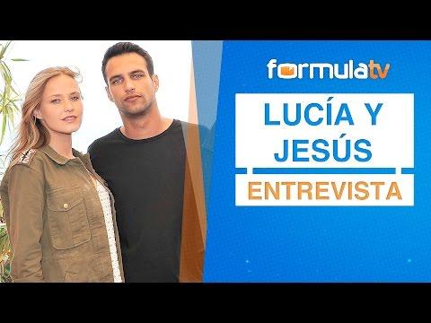 Entrevista a Jesús Castro y Lucía Guerrero como pareja de 'Perdóname Señor'