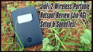 JioFi 2 Wireless Portable Hotspot Review ( Jio 4G ) : Setup & Speedtest
