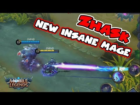 NEW HERO ZHASK | 4 SKILLS!  INSANE DAMAGE MAGE | Mobile Legends Update