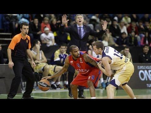 Highlights: Budivelnik Kiev-CSKA Moscow
