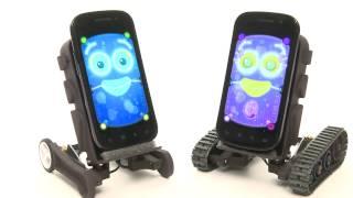 ipad MAC vs PC tablet ROBOTS 4 SMARTPHONES iphone Android review FUN APPS Hackable Robot Oddwerx