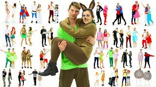 Download Lagu 30 Last-Minute COUPLE Halloween Costume Ideas! DIY Costumes! Gratis STAFABAND