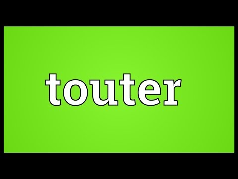 Header of touter