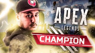 MON PREMIER TOP 1 EN SOLO VS SQUAD SUR APEX LEGENDS !!