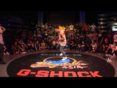 女力Bboyworld Asia【Citywar Bboy 1 vs 1】Final - Blue vs Steez
