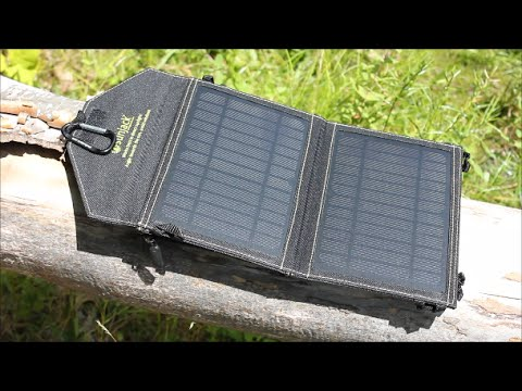 Sunjack Solar Charger: Your Basic Solar Power Source For Charging Your Gear