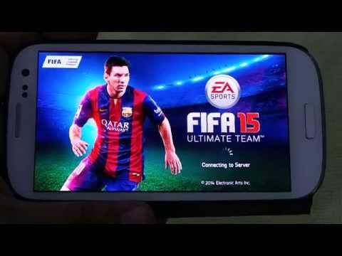 SAMSUNG GALAXY S3 FIFA 15 GAMEPLAY