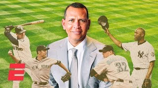 Alex Rodriguez on Edgar Martinez, Mo Rivera, Mike Mussina & Roy Halladay | Baseball Hall of Fame