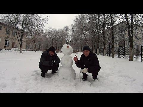 На что готов мужик ради 300 руб / Лепка Снеговиков кто быстрей