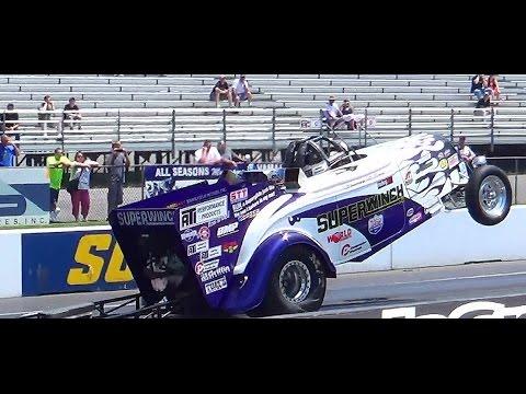 Super winch wheelie truck keystone deisel truck nats 7-26-14