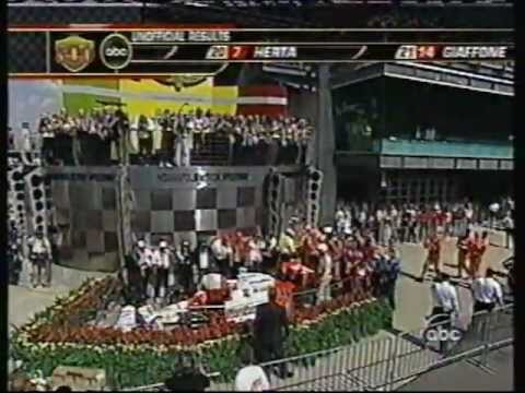 2006 Indy 500 - Sam Hornish beat the Andrettis to victory