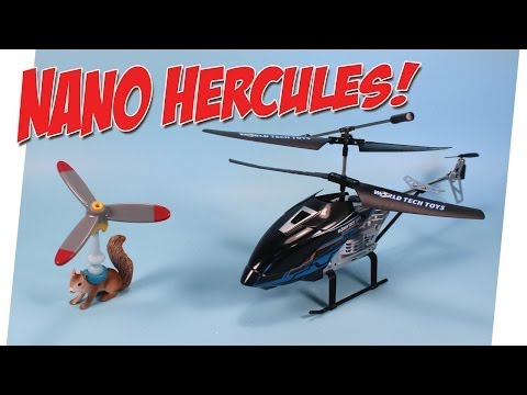 Nano Hercules Unbreakable Helicopter from World Tech Toys Review