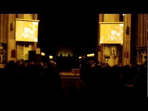 Highland cathedral organ bagpipes
