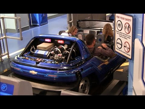 Test Track at Disney World Epcot Theme Park, Orlando,Florida