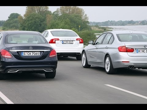 volvo s60 vs bmw 325d vs mercedes c 250 youtube. Black Bedroom Furniture Sets. Home Design Ideas
