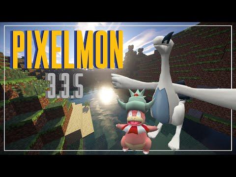 PIXELMON 3.3.5   LUGIA Y MAS   MINECRAFT 1.7.10