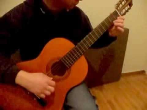 Μαθήματα κιθάρας: Νεφέλη απο Λα -