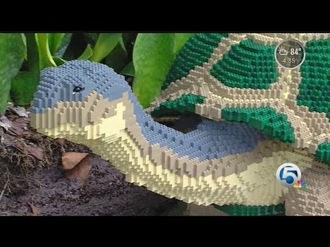 'Nature Connects:' Art with Lego Bricks exhibition