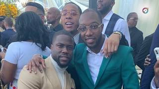Kelvin Mensah spotted at Roc Nation Brunch with Jay Z , Diddy and more ahead of Grammys