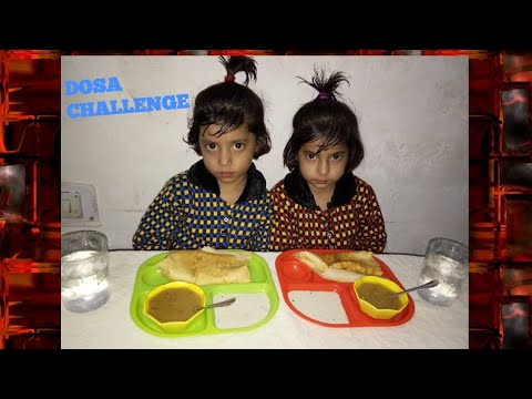 PANEER MASALA DOSA // eating challenge !! Katto food channel