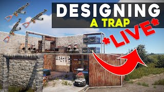 Building A Player Framing Trap Base **LIVE**