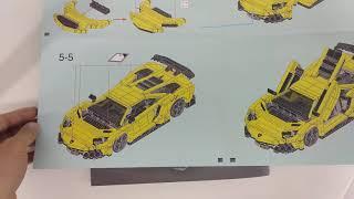 Hướng dẫn lắp ráp XingBao xb-03008 Lego Creator MOC Lamborghini Aventador giá sốc rẻ nhất