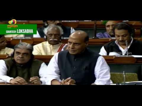 Rajnath Singh In Lok Sabha   Says Terror Attacks Down By 30 Percent During Pathankot Debate