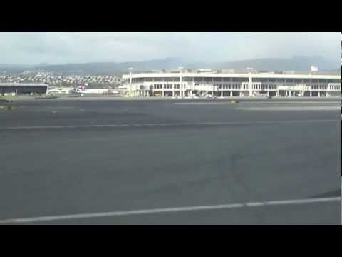 Honolulu International Airport : Hawaiian Airlines : Boeing 717-200 : Landing [HD]