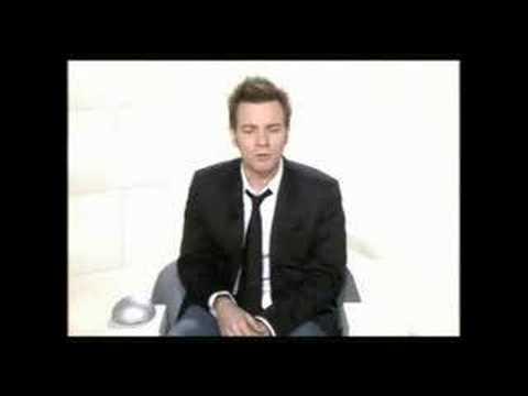 Ewan McGregor à la France and he gave an Interview