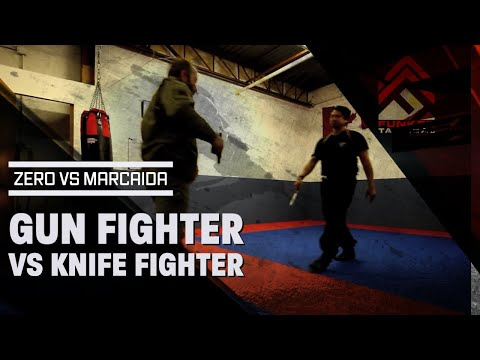 Elite Knife Fighter Vs Elite Gun Fighter - Raw, Uncut, Never Before Seen Footage video