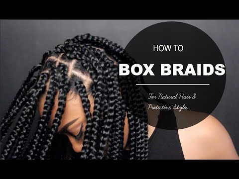 How To  Box Braids Protective Style