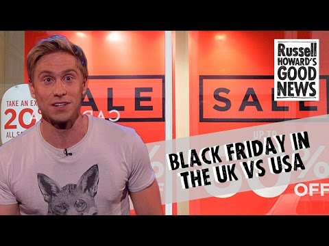 Black Friday in the UK vs USA