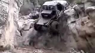 Extreme off road stunts