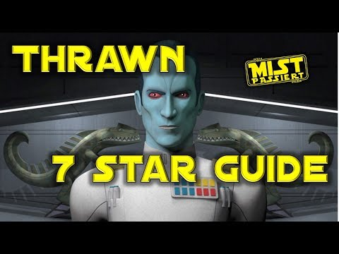 Thrawn's 7th Gate of Hell: Seven Star Thrawn Strategy Guide SWGoH