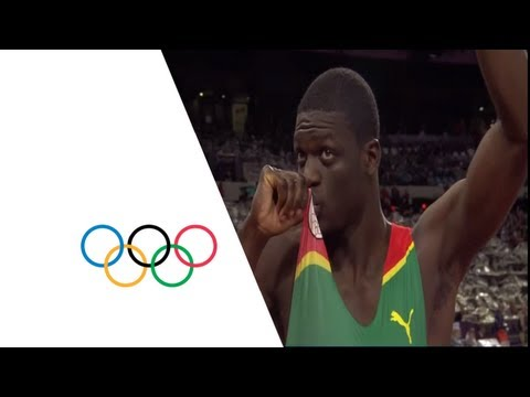 Athletics Men&#039;s 400m Final - Full Replay -- London 2012 Olympic Games