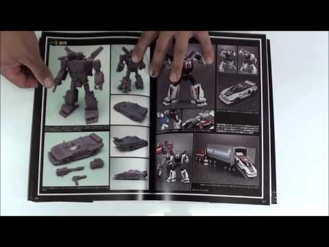 Review de guía oficial de transformers masterpiece por Javitron en Español official guide