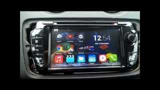 Présentation autoradio android KGAC 7010 HD - SEAT Ibiza 6J