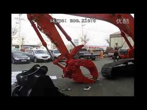 Multi-pinzas hidráulica cucharas de excavadoras China fabricante Guanhai