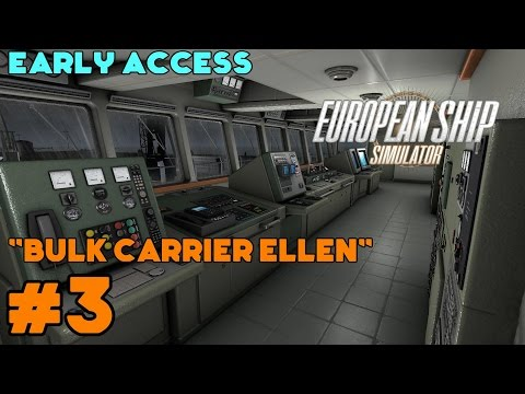European Ship Simulator (Early Access) Lets Play