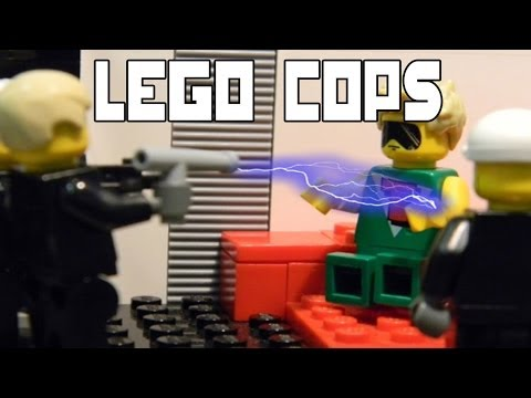LEGO COPS: JUSTIN BIEBER ARRESTED
