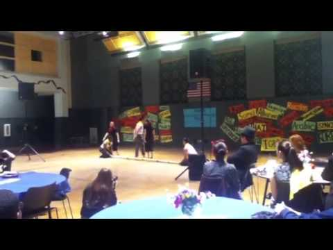 EWHS Filipino Pride Club - Tinikling (Heritage Night 2014)