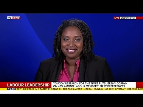 Labour MP Dawn Butler On Party Leadership Contest