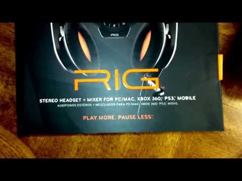 HEADSET GIVEAWAY!  Plantronics Rig Headset Review for Xbox 360. PS3.and PC.